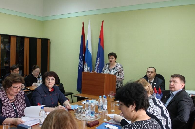 Фотография Президиума Самарской областной организации Росхимпрофсоюза